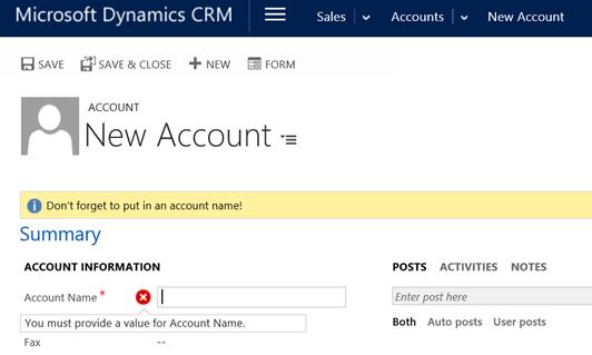 JavaScript – Basics - Microsoft Dynamics CRM Community