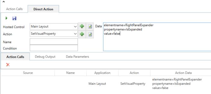 USD – SetVisualProperty Action | Microsoft Dynamics 365 and
