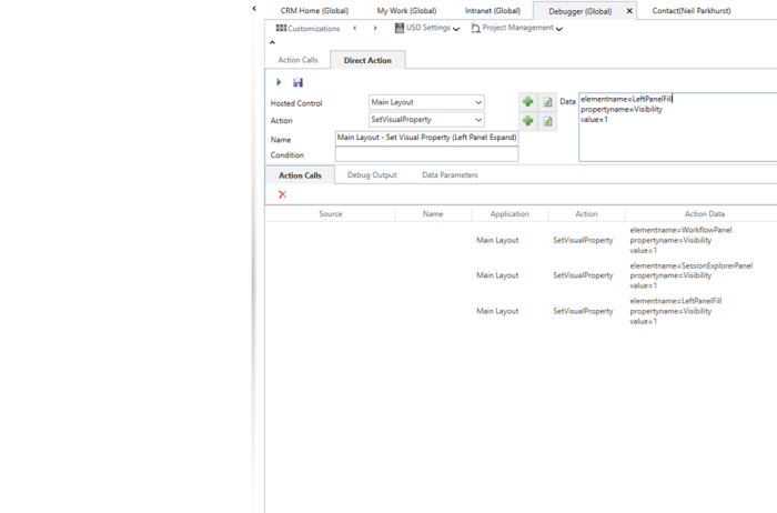 USD – SetVisualProperty Action | Microsoft Dynamics 365 and Unified