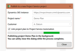 Microsoft Project and Project Service Automation (PSA
