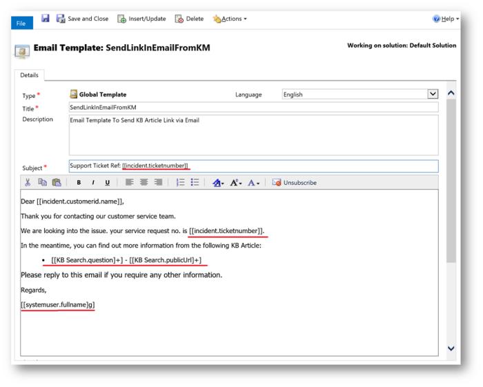 Usd Email Templates Microsoft Dynamics Crm Community