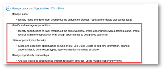 importance in the sales side of dynamics 365 and therefore quite a few concepts relate to opportunity and by implication quite a bit of revision