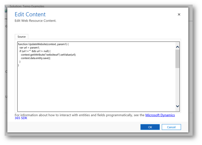USD – UCI and RunXrmCommand | Microsoft Dynamics 365 and Unified