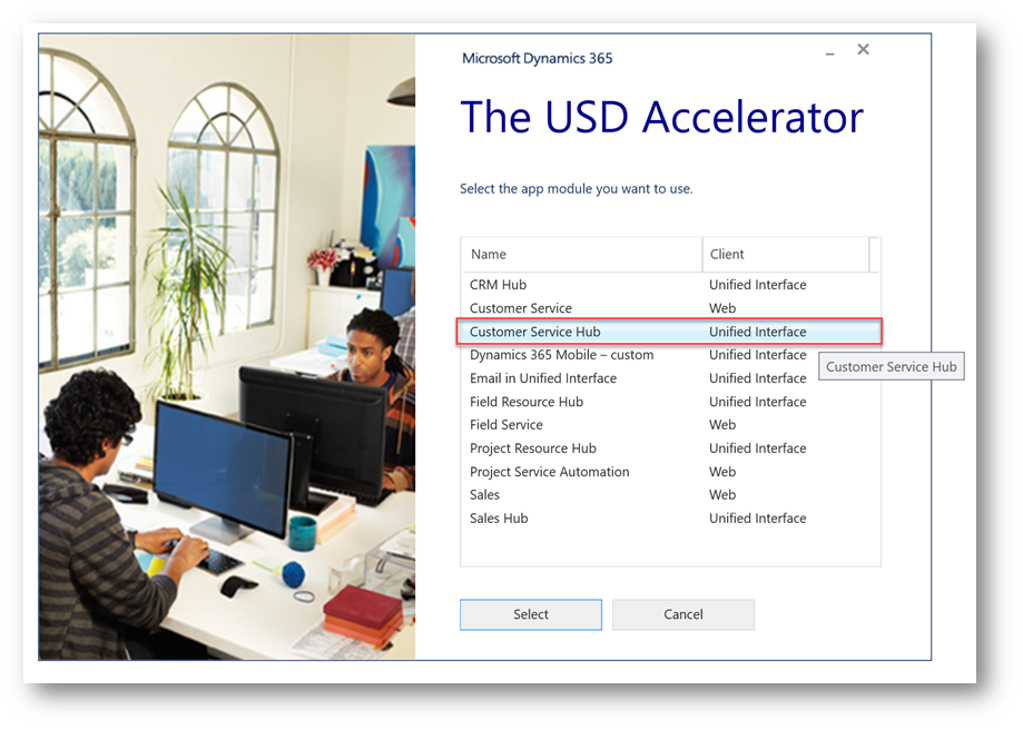 USD – Configuration – Microsoft Dynamics 365 and Unified