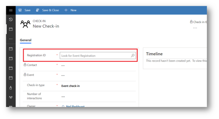 Dynamics 365 for Marketing – Scan QR codes at Event Check In