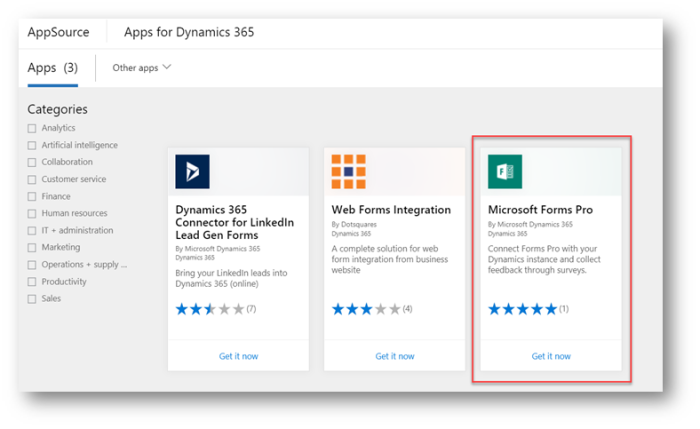 Microsoft Forms Pro – First look - Microsoft Dynamics CRM Community